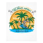 Sihanoukville Hash House Harriers Island Hash Customized Letterhead