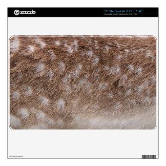 Sika Deer Fur Wildlife Electronics Device Skin Decal For MacBook Air