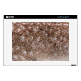 Sika Deer Fur Wildlife Laptop Computer Skin Laptop Decal
