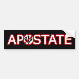 Sikh Apostate Bumper Sticker