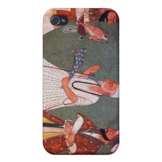Sikh Art Guru Gobind Singh Meets Guru Nanak Dev iPhone 4/4S Covers