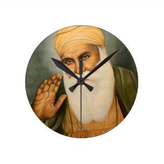 Sikh Art/Symbol Round Clock