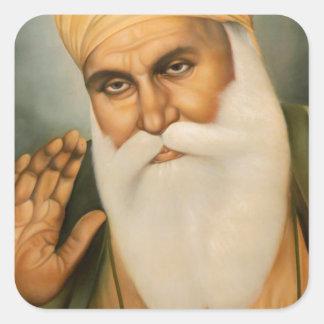 Sikh Art/Symbol Square Sticker