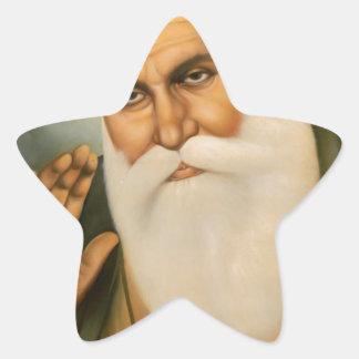 Sikh Art/Symbol Star Sticker