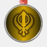 Sikh Christmas Tree Ornaments