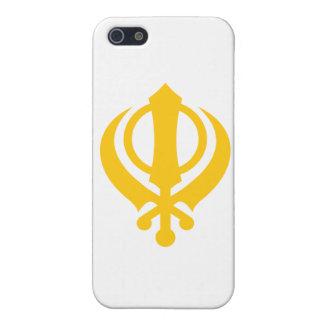 Sikh Khanda Gold Case For iPhone SE/5/5s