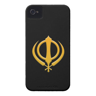 Sikh Khanda iPhone 4/4S Case-Mate Barely There