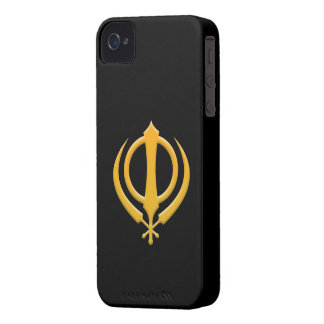 Sikh Khanda iPhone 4 ID Case-Mate iPhone 4 Cover