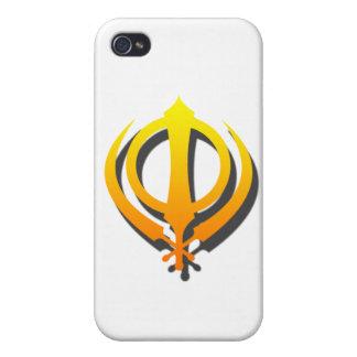 Sikh Khanda Khalsa Sikhism Punjabi Cover For iPhone 4