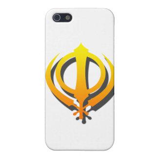 Sikh Khanda Khalsa Sikhism Punjabi iPhone SE/5/5s Cover