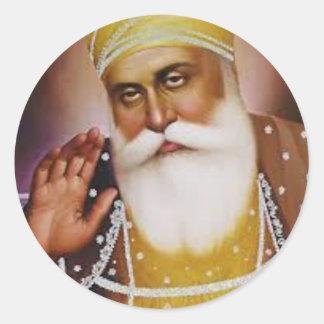Sikh Symbol/Art Classic Round Sticker