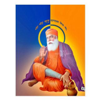 Sikh Symbol/Art Post Card