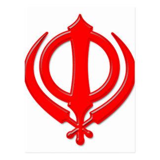 Sikh Symbol/Art Post Cards