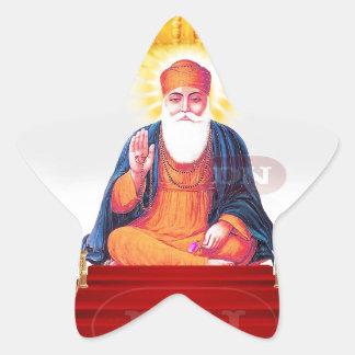 Sikh Symbol/Art Star Sticker