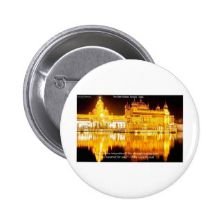 Sikh The Golden Temple In India Gifts & Tees Pin