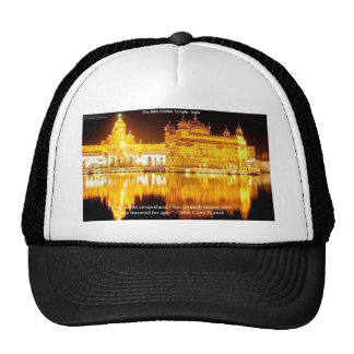 Sikh The Golden Temple In India Gifts & Tees Trucker Hats