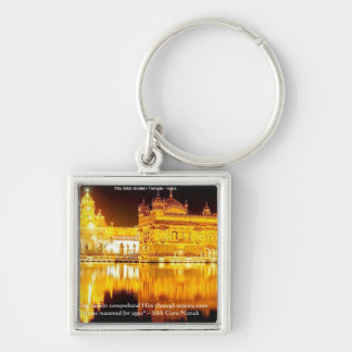 Sikh The Golden Temple In India Gifts & Tees Keychain