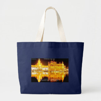Sikh The Golden Temple In India Gifts & Tees Large Tote Bag