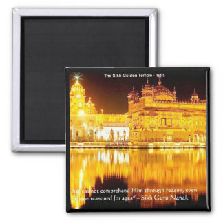 Sikh The Golden Temple In India Gifts & Tees Fridge Magnets