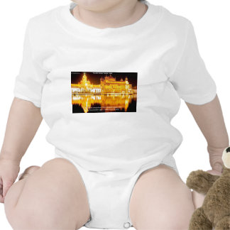 Sikh The Golden Temple In India Gifts & Tees Baby Bodysuit