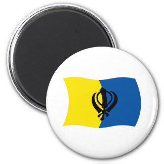 Sikhism Flag Magnet