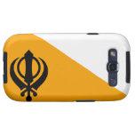 Sikhism santo sikh Nishan Sahib de la bandera de P Samsung Galaxy S3 Fundas