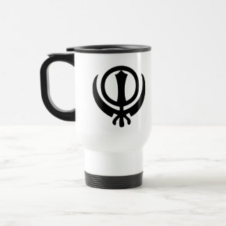 Sikhism Symbol 15 Oz Stainless Steel Travel Mug