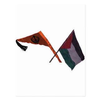 Sikhs para Palestina Postales