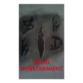 SIKKID ENTERTAINMENT first ever poster