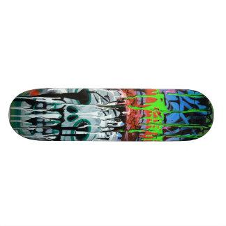Siko Skull Skateboard