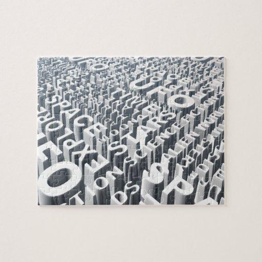 Sílabas del espacio puzzles con fotos