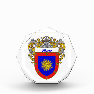Silano Coat of Arms Family Crest Award