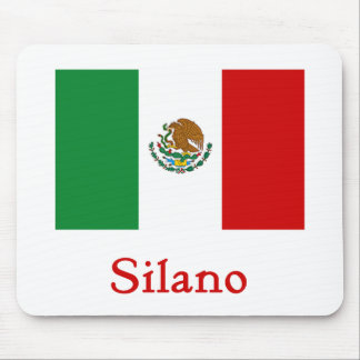 Silano Mexican Flag Mouse Pad