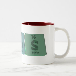 Silas  as Silicon Lanthanum Sulfur Two-Tone Coffee Mug