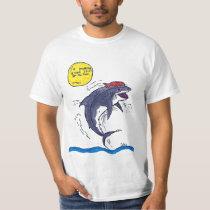 Silas Hanneken's Shark Surfer T-Shirt