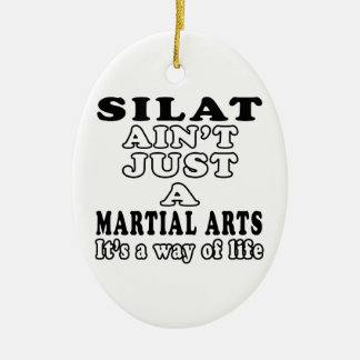 Silat Ain't Just A Game It's A Way Of Life Christmas Tree Ornaments