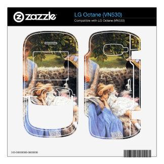 Silence by James Tissot Skins For The LG Octane