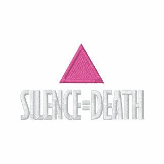 Silence=Death Hoodie Men
