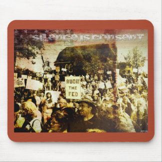 Silence Is Consent Mouse Pad