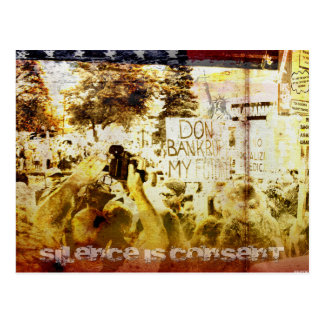 Silence Is Consent Postcard