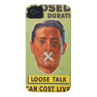 Silence is Golden Case-Mate iPhone 4 Cases