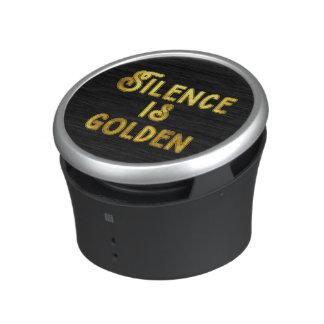 Silence is Golden Speaker