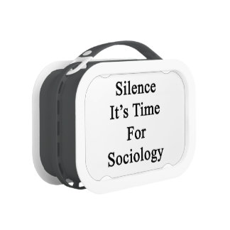 Silence It's Time For Sociology Replacement Plate