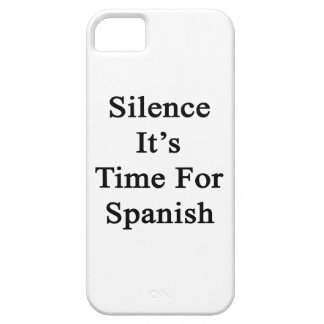 Silence It's Time For Spanish iPhone 5 Covers