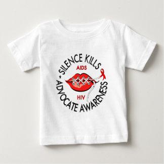 Silence Kills Baby T-Shirt