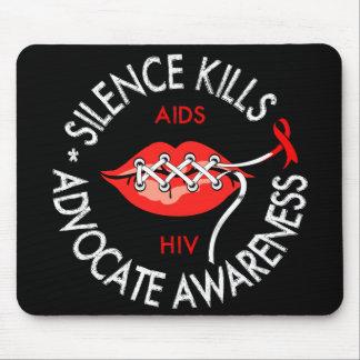 Silence Kills Mouse Pads