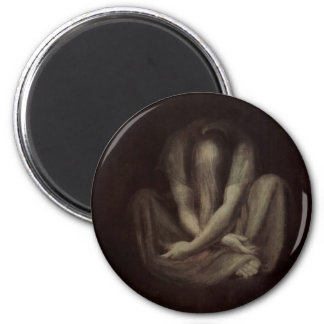 Silence 2 Inch Round Magnet