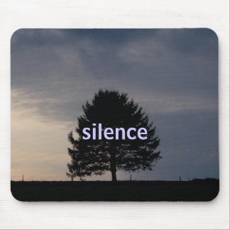 silence mouse pad