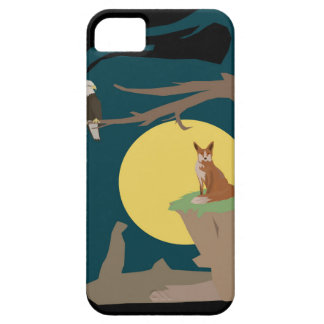 Silence Night by the Fox and the Eagle iPhone 5 Cases