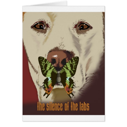 Silence of the Labs Card